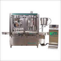 Automatic Rotary Vacuumatric Dry Syrup Filling Machine