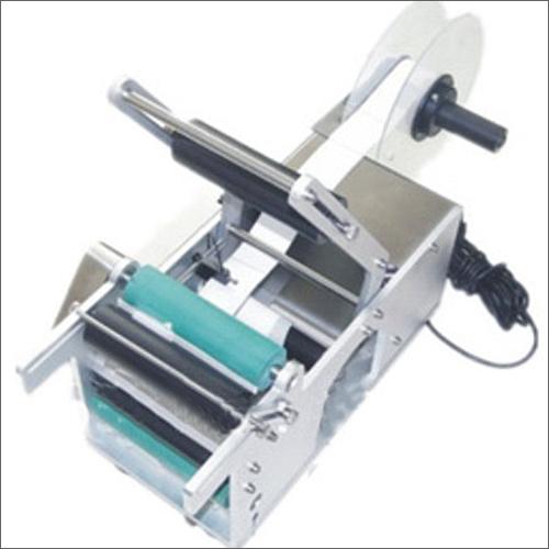 Semi Automatic Self Adhesive Sticker Labelling Machine