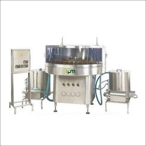 Automatic Rotary Bottle Washing Machine