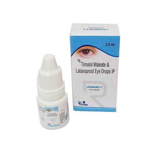 LATANORET T EYE DROP (TIMOLOL 5MG/ML & LATANOPROST 50MCG/ML)
