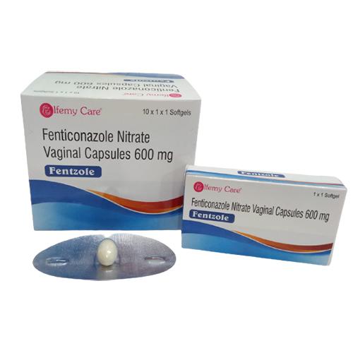 600mg Fenticonazole Nitrate Vaginal Capsules