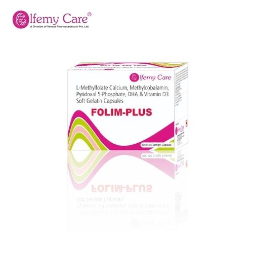 L-Methylfolate Calcium, Methylcobalamin, Pyridoxal 5-Phosphate, DHA & Vitamin D3 Soft Gelatin Capsules