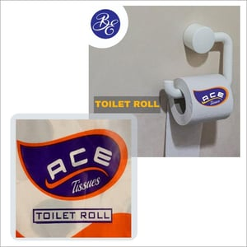 Plain Toilet Tissue Paper Roll