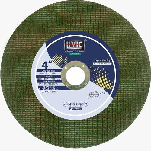 4 inch cutting wheel green line