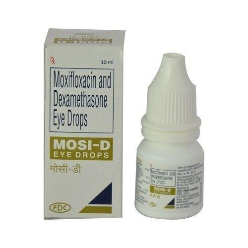 MOSI D EYE DROP (MOXIFLOXACIN 0.05% & DEXAMETHASONE 0.01%)