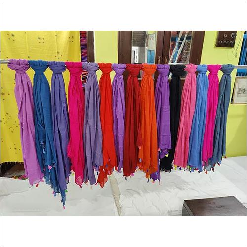 Rayon 42 Inch Plain Dye Dupatta