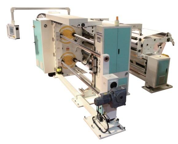 Film Paper Laminate Slitter Machine