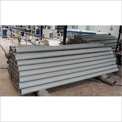 White PVC Plain Pipe