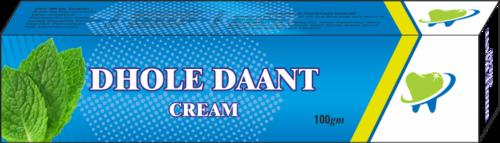 Dhoole Daant Cream