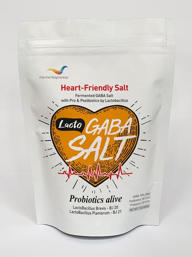 Lacto GABA Salt with pro&postbiotics (Postbiotics, salt, blood pressure improvement)