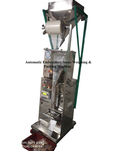 Automatic Embroidery Stone Weighing & Packing Machine