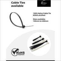 Black Nylon Cable Tie