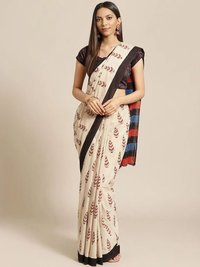Ladies Fancy Print Saree