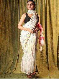 Ladies Soft Cotton Print Saree