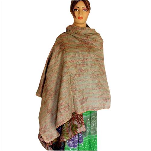 Silk Reversible Shawl