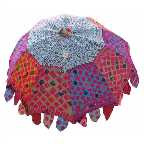 Vintage Decor Garden Umbrella