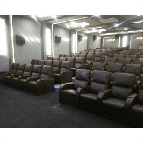 Cinema Semi Fix Sofa Type Royal Chair