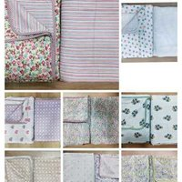 *Single bed printed Premium soft cambric Reversible DOHAR*With PVC zipper bag