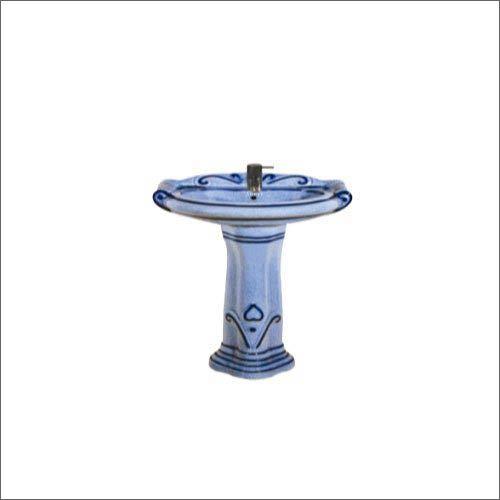 Mini Sterling Rustic Pedestal Wash Basin