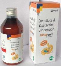 Sucralfate Oxetacaine Suspension