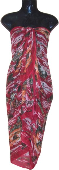 printed beachwear sarong