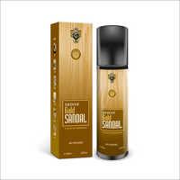 Bottle & Box Gold Sandale
