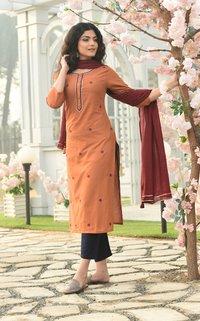 Designer Readymade Salwar kameez Dupatta set