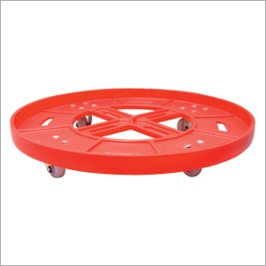 Plastic Cylinder Trolley