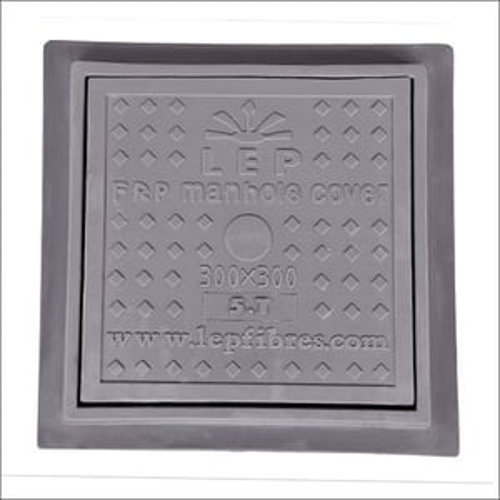 300mm x 300mm FRP Square Manhole Cover
