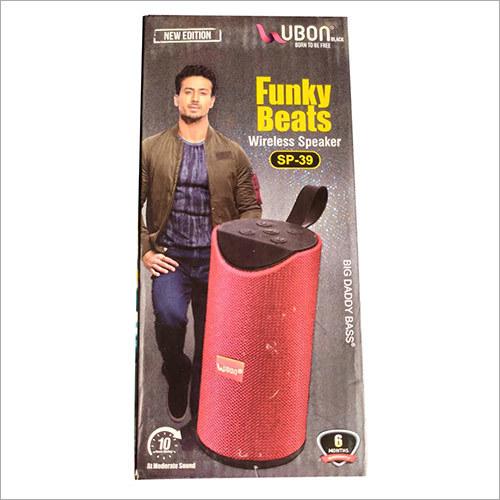Funky Beats Wireless Speaker