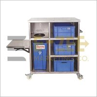 Stainless Steel Banquet Trolley