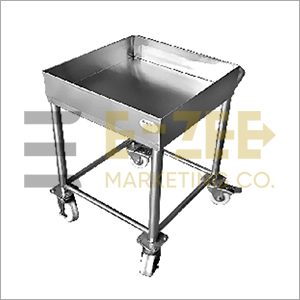 Stainless Steel Single Food Craft Trolley