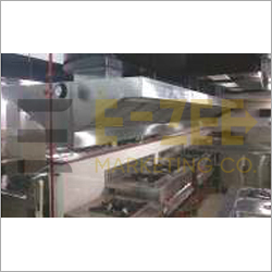 Kitchen Hood With Ducting System
