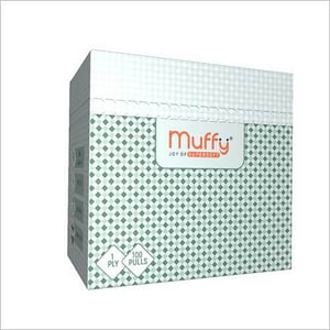 Muffy Table Top 100 Pulls 1 Ply Soft Napkins