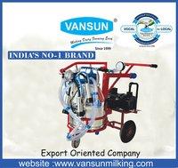1HP- Single Bucket Trolley Type Milking Machine (VM1SST)