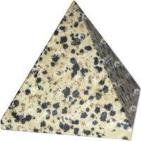 Prayosha Crystals Dalmatian Pyramid