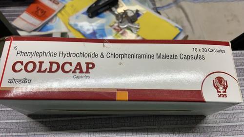 COLDCAP CAPSULE (PHENYLEPHRINE & CHLORPHENIRAMINE)