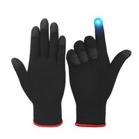 Game Controller for PUBG Sweat Proof Full Finger Touch Screen Mobile Gaming Gloves