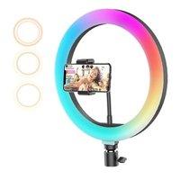 10Inch Multicolor RGB Selfie LED Ring Light