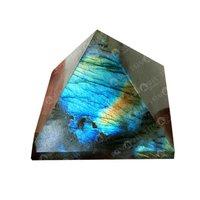 Prayosha Crystals Labradorite Pyramid