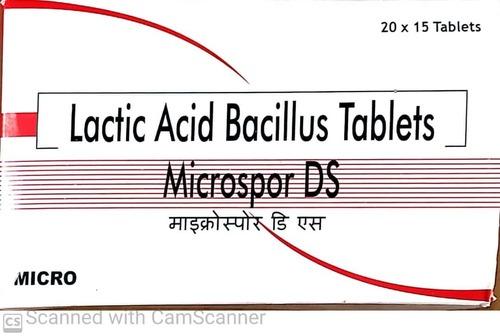 LACTIC ACID BACILLUS TABLET