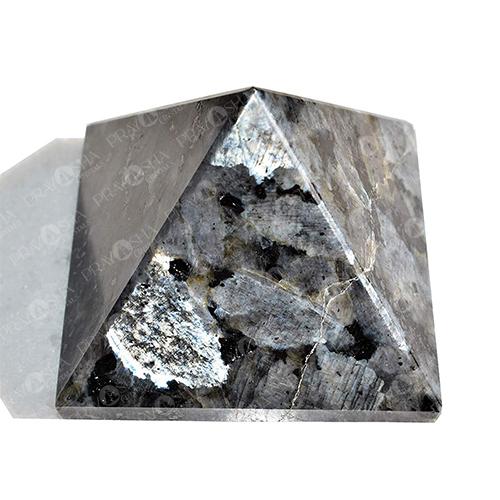 Prayosha Crystals Larvikite Pyramid