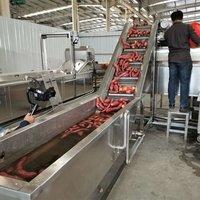 Full Automatic Cassava Washing Peeling Cutting Line
