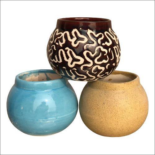Matki Shape Ceramic Planter