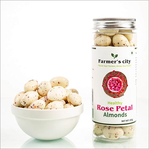 Healthy Rose Petal Almonds
