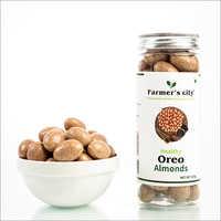 Healthy Oreo Almonds
