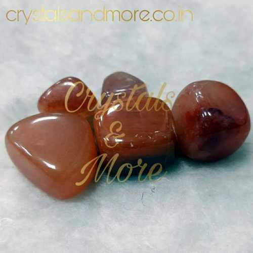 Red Carnelian Tumbled Stones