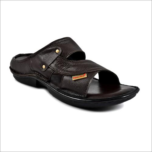 Mens Pure Leather Slipper