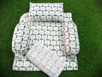 Block printed Baby Bedding Set