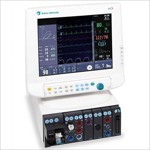 GE Datex Ohmeda S-5 Anesthesia Monitor